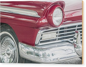 Wood Print featuring the photograph Classic 50s Style by Dawn Romine