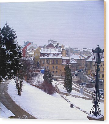 Classic Beauty Lublin Poland  Wood Print by Rick Todaro