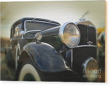 Classic Black Wood Print by Paul Cammarata