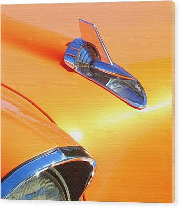 Classic Car 1 Wood Print by Art Block Collections