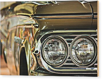 Wood Print featuring the photograph Classic Car by Tammy Schneider