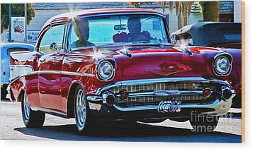 Classic Chevrolet Wood Print by Tap On Photo