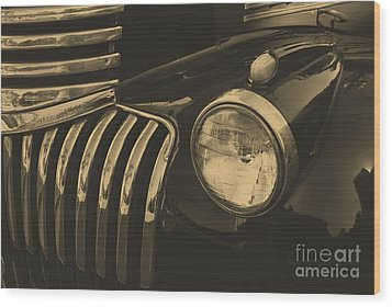 Wood Print featuring the photograph Classic Chevy One by John S