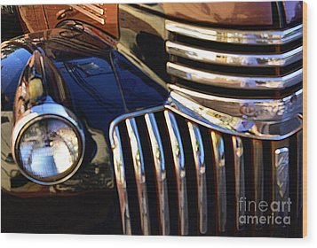 Wood Print featuring the photograph Classic Chevy Two by John S
