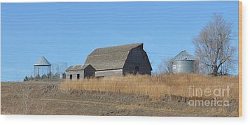 Classic Country Barn Wood Print by Renie Rutten
