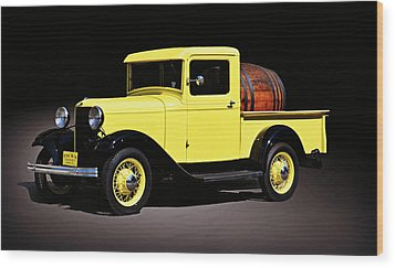 Classic Ford Truck Wood Print