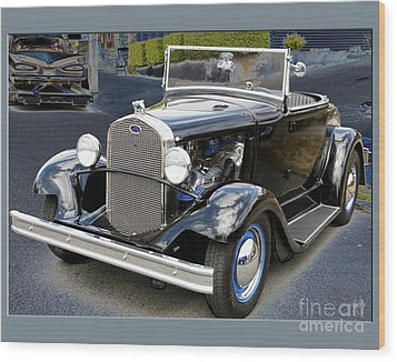 Wood Print featuring the photograph Classic Ford by Victoria Harrington