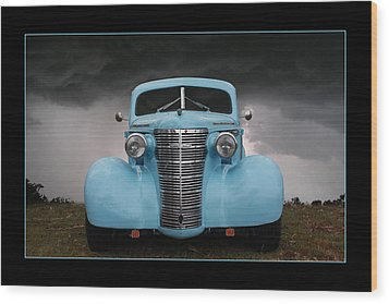 Wood Print featuring the photograph Classic In Blue by Keith Hawley