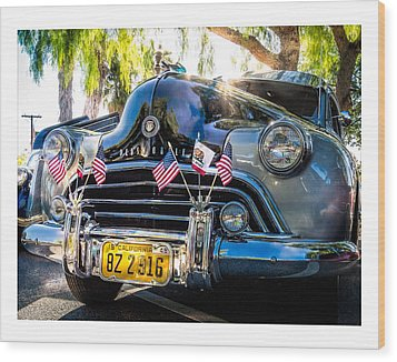 Classic Oldsmobile Wood Print by Steve Benefiel