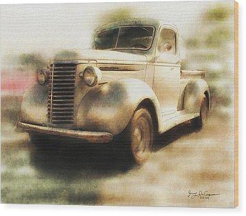 Classic Pickup Wood Print