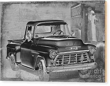 Classic Ride Wood Print by Betty LaRue