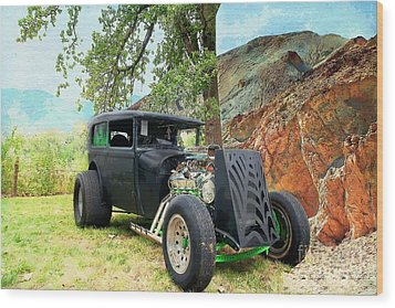 Wood Print featuring the photograph Classic Rod by Liane Wright