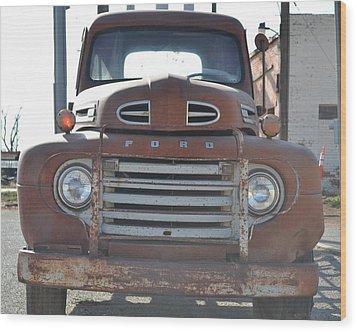 Classic Truck  Wood Print