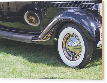 Classic Wheels Wood Print