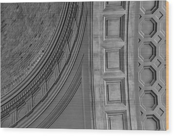 Classical Dome And Vault Detail Wood Print by Lynn Palmer