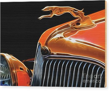 Classy Classic  Wood Print by Bob Christopher