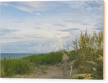 Clearing Sky Wood Print by Gregg Southard