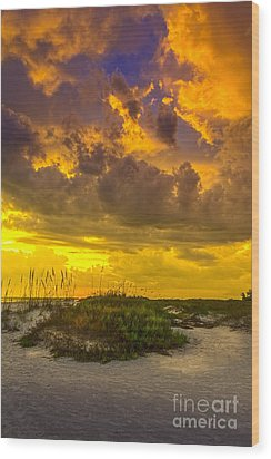 Clearing Skies Wood Print by Marvin Spates