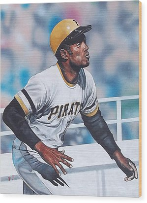 Clemente Wood Print by D A Nuhfer