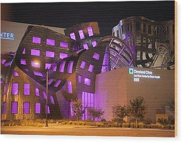 Cleveland Clinic Las Vegas #2 Wood Print by Daniel Furon