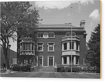 Cleveland State University Mather Mansion Wood Print by University Icons