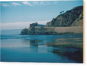 Cliff House 1956 Wood Print by Cumberland Warden