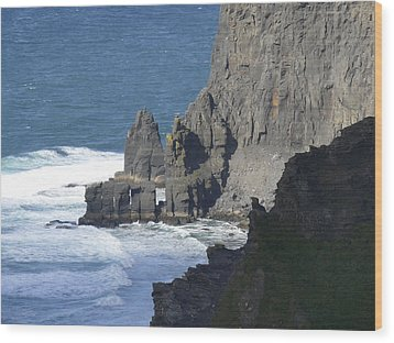 Cliffs Of Moher 6 Wood Print by Mike McGlothlen