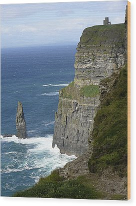 Cliffs Of Moher 7 Wood Print