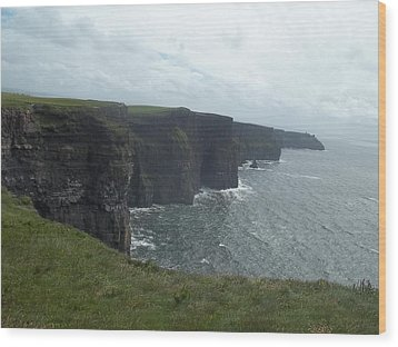 Cliffs Of Moher II Wood Print
