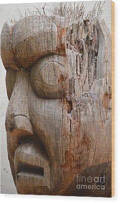 Climate Mind Changer Wood Print