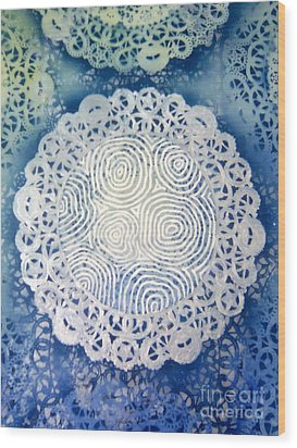 Clipart 010 Wood Print by Luke Galutia