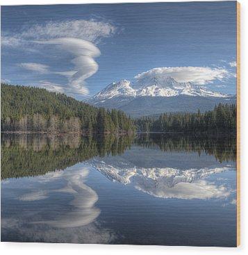 Cloud Dance Wood Print