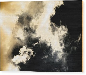 Cloud Formation Wood Print