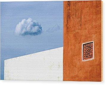 Cloud No 9 Wood Print