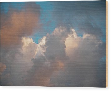 Wood Print featuring the photograph Cloud Study 3 by Laurie Stewart