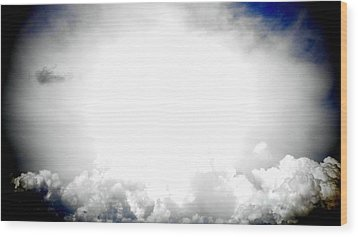 Cloudburst Sky Celestial Cloud Art Xl Resolution Wood Print