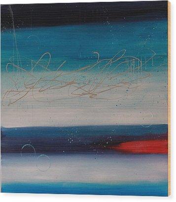 The Night Sky #1 Wood Print
