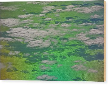 Clouds #4 Wood Print