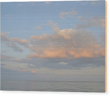 Summer Sky Wood Print