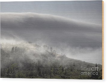 Wood Print featuring the photograph Clouds Over Sleeping Bear Dunes 1 by Trey Foerster