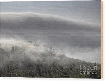 Clouds Over Sleeping Bear Dunes 1 Wood Print