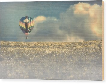 Clouds Within Clouds Wood Print by Bob Orsillo