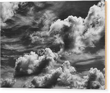 Cloudscape 3 Wood Print by Tom Druin