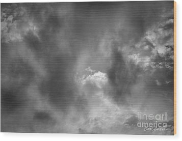 Cloudscape No. 6 Wood Print by David Gordon