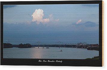 Clover Cary Bridge 2 Wood Print by David Lester