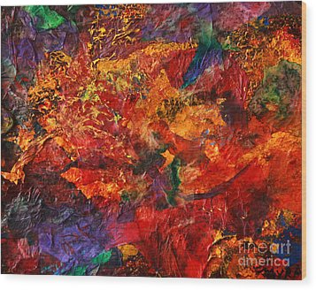 Cme Explosion Wood Print