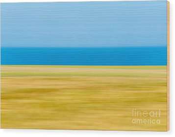 Coastal Horizon 9 Wood Print by Delphimages Photo Creations