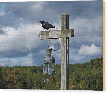 Wood Print featuring the photograph Coastal Maine by Gene Cyr