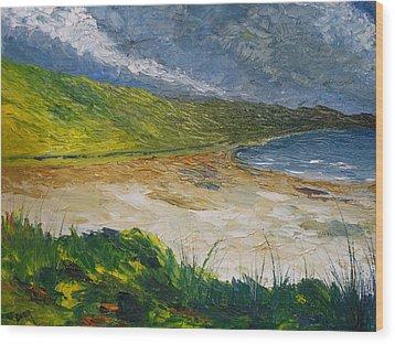 Coastal Road To Barleycove Wood Print by Conor Murphy