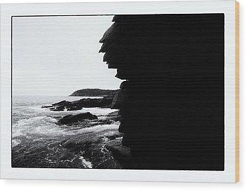 Coastal Scene 8 Wood Print by Jeremy Herman